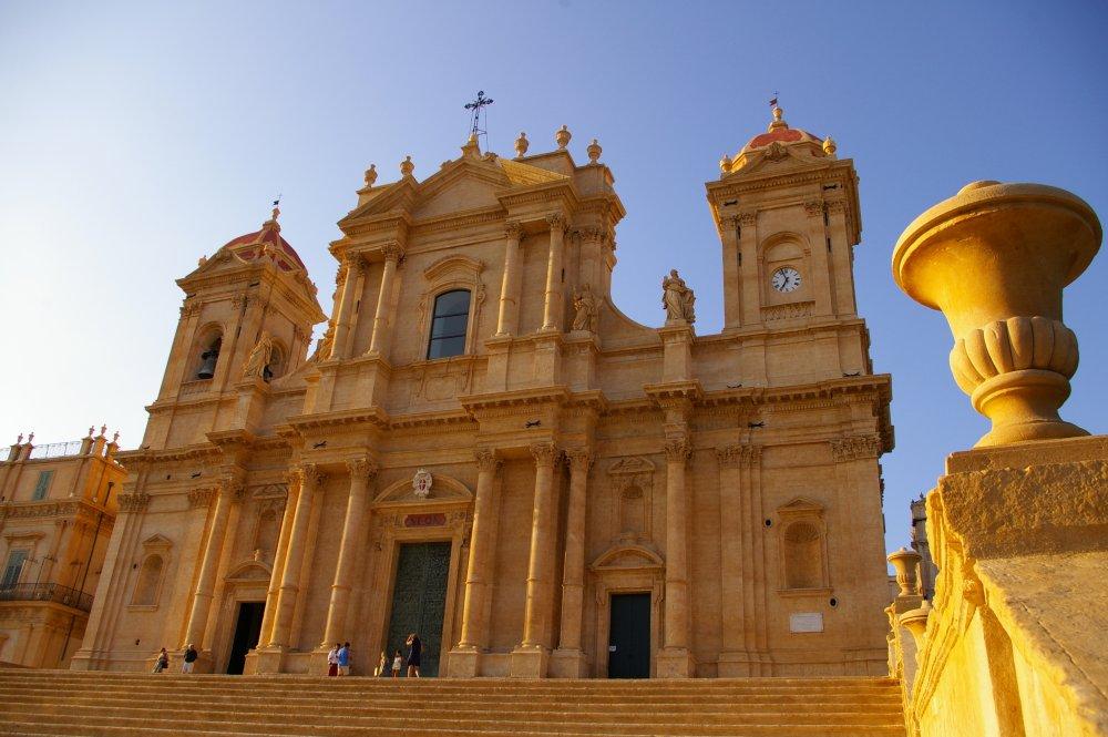 Noto - Prospetto della Cattedrale