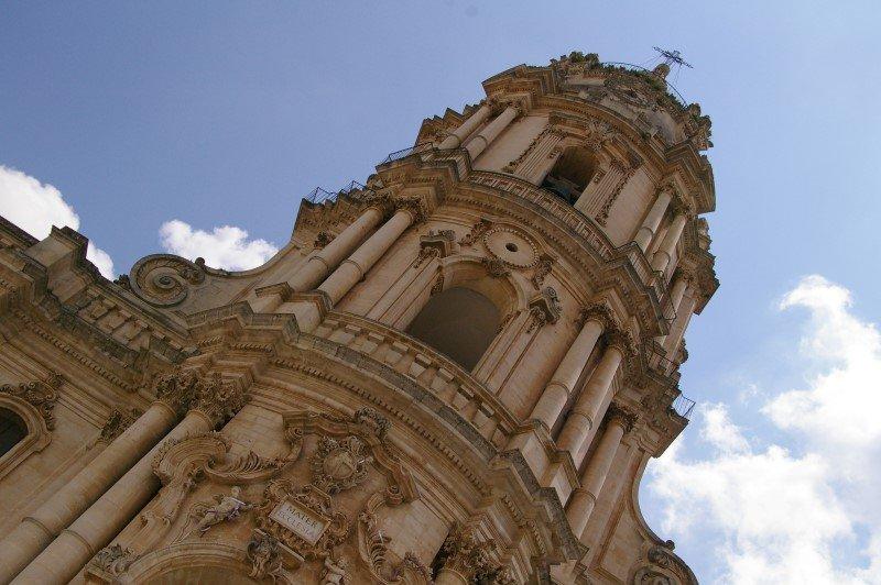 Modica - Campanile della Chiesa di San Giorgio