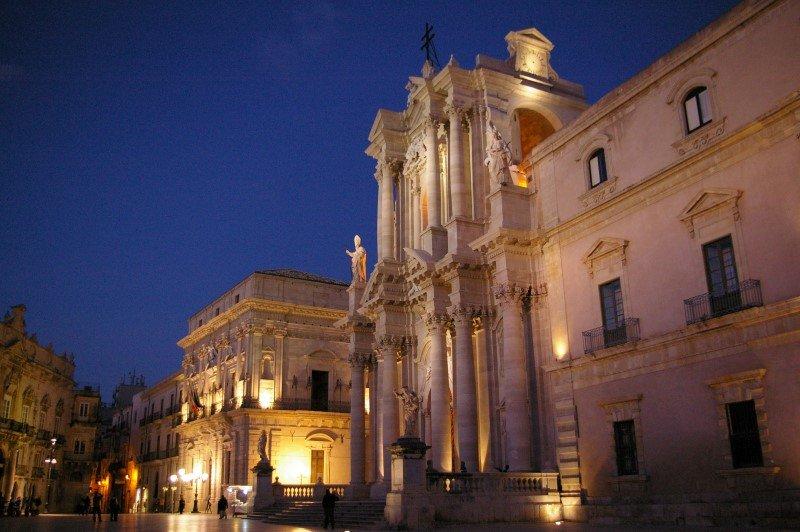 Siracusa - Duomo e Palazzo Vescovile